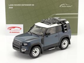 Land Rover Defender 90 Baujahr 2020 tasman blau 1:18 Almost Real