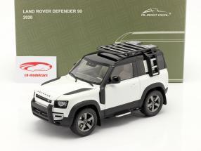 Land Rover Defender 90 Année de construction 2020 fuji blanc 1:18 Almost Real