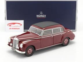 Mercedes-Benz 300 (W186) year 1955 dark red 1:18 Norev