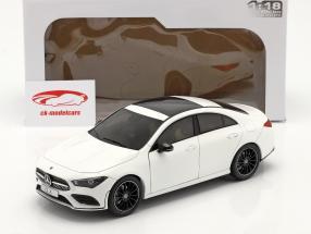 Mercedes-Benz CLA Coupe (C118) 建设年份 2019 白色的 1:18 Solido