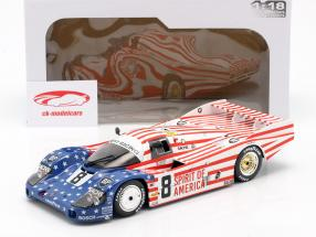 Porsche 956 LH #8 3rd 24h LeMans 1986 Follmer, Morton, Miller 1:18 Solido