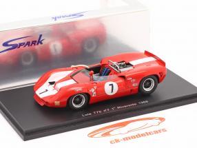 Lola T70 #7 Winner Can-Am Riverside 1966 John Surtees 1:43 Spark
