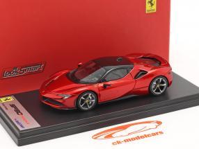 Ferrari SF90 Stradale bouwjaar 2019 vuur rood 1:43 LookSmart