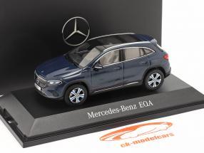 Mercedes-Benz EQA (H243) bouwjaar 2021 denim blauw 1:43 Herpa