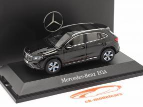 Mercedes-Benz EQA (H243) Année de construction 2021 cosmos noir 1:43 Herpa