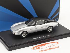 BMW Hurrican Ano de construção 1964 prata / Preto 1:43 AutoCult