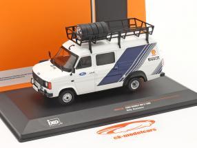 Ford Transit MK II bestelwagen 1986 Rallye Assistance Ford Motorsport 1:43 Ixo