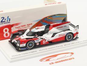 Toyota TS050 Hybrid #8 winnaar 24h LeMans 2020 Toyota Gazoo Racing 1:43 Spark
