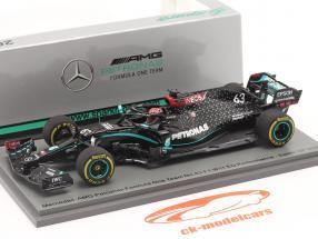George Russell Mercedes-AMG F1 W11 #63 9° Sakhir GP formula 1 2020 1:43 Spark