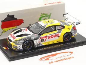 BMW M6 GT3 #98 4° 24h Nürburgring 2020 Rowe Racing 1:43 Spark