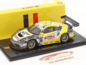 Porsche 911 GT3 R #98 ganador 24h Spa 2020 Rowe Racing 1:43 Spark