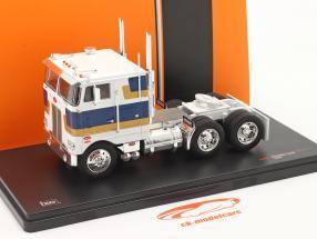 Peterbilt 352 H Truck 1979 white / blue / gold 1:43 Ixo