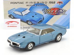 Pontiac Firebird Street Fighter bouwjaar 1968 luzerne blauw 1:18 GMP