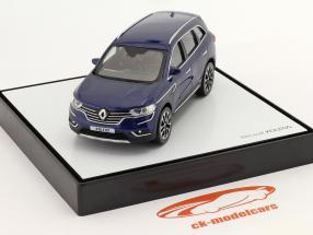 Renault Koleos Ano de construção 2016 azul escuro 1:43 Norev