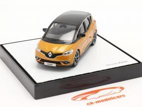 Renault Scenic generazione 4 Anno di costruzione 2016 taklamakan arancia / nero 1:43 Norev