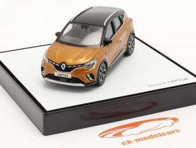 Renault Captur Byggeår 2020 taklamakan orange / sort 1:43 Norev