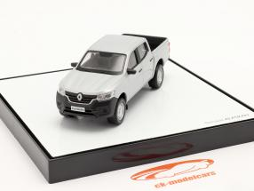 Renault Alaskan Ano de construção 2018 cinza prateado metálico 1:43 Norev