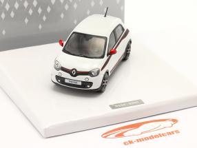 Renault Twingo Generation 3 Baujahr 2014 weiß 1:43 Norev