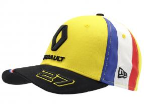 Casquette Renault F1 Team 2019 #27 Hülkenberg jaune / noir / blanc Taille M / L