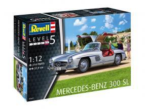 Mercedes-Benz 300 SL Kit prata 1:12 Revell