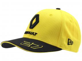 Cap Renault F1 Team 2019 #27 Hülkenberg geel / zwart grootte M / L
