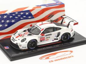 Porsche 911 RSR #911 3ª Classe GTLM 24h Daytona 2020 Porsche GT Team 1:43 Spark