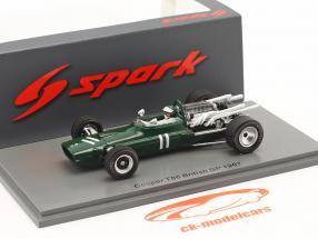 Jochen Rindt Cooper T86 #11 Britisk GP formel 1 1967 1:43 Spark