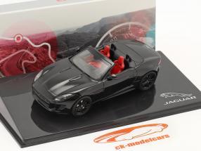 Jaguar F-Type V8-S Anno di costruzione 2013 nero 1:43 Ixo