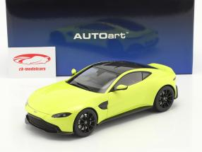 Aston Martin Vantage Ano de construção 2019 Lima verde 1:18 AUTOart