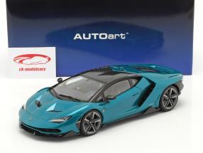 Lamborghini Centenario Año de construcción 2016 artemis verde 1:18 AUTOart