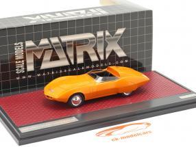 Chevrolet Astrovette Concept Car 1968 orange 1:43 Matrix