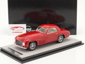 Ferrari 166S Coupe Allemano Versão de rua 1948 vermelho 1:18 Tecnomodel