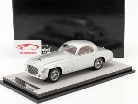 Ferrari 166S Coupe Allemano Version rue 1948 argent métallique 1:18 Tecnomodel