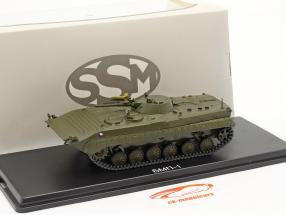 BMP-1 militær (CZ) Pansrede personelbærere mørk oliven 1:43 Start Scale Modeller