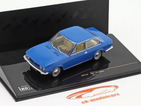 Fiat 124 Coupe Año de construcción 1971 azul 1:43 ixo