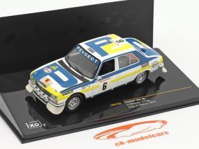 Peugeot 504 #6 ganador Rally du Maroc 1975 Mikkola, Todt 1:43 Ixo