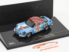 Alpine Renault A110 1800 #1 gagnant Rallye SanRemo 1973 1:43 Ixo