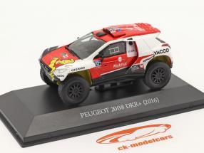 Peugeot 2008 DKR #328 Rallye Dakar 2016 Dumas, Borsotto 1:43 Premium Collectibles