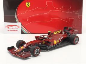 C. Leclerc Ferrari SF1000 #16 Milésimo GP Ferrari Toscano GP F1 2020 1:18 BBR