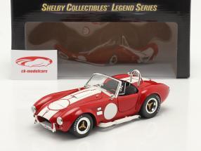 Shelby Cobra 427 S/C Anno di costruzione 1965 rosso / bianca 1:18 ShelbyCollectibles