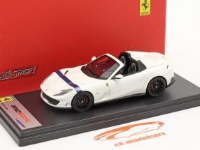 Ferrari 812 GTS Spider Anno di costruzione 2019 bianco italia / blu 1:43 LookSmart