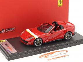 Ferrari 812 GTS Spider Année de construction 2019 corsa rouge / blanc / jaune 1:43 LookSmart