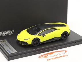 Lamborghini Huracan Evo Fluo Capsule 2020 måtte gul 1:43 LookSmart