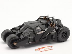Batmóvel Filme The Dark Knight (2008) Preto 1:24 Jada Toys