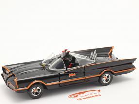 Batmobile Classico tv Serie Batman (1966) nero 1:24 Jada Toys