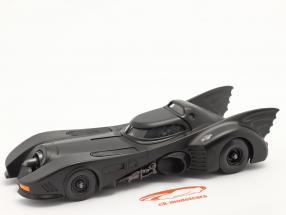 Batmóvel Filme Batman (1989) esteira Preto 1:24 Jada Toys