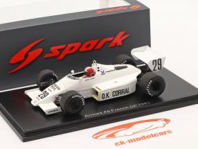 Marc Surer Arrows A6 #29 francese GP formula 1 1983 1:43 Spark