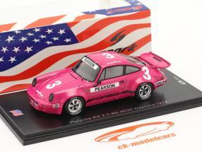 Porsche RS 3.0 #3 4th IROC Daytona 1974 D. Pearson 1:43 Spark