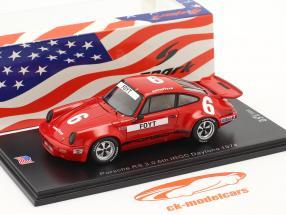 Porsche RS 3.0 #6 6º IROC Daytona 1974 A. J. Foyt 1:43 Spark