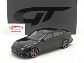 Audi RS5 (B9) スポーツバック 建設年 2020 黒 1:18 GT-SPIRIT